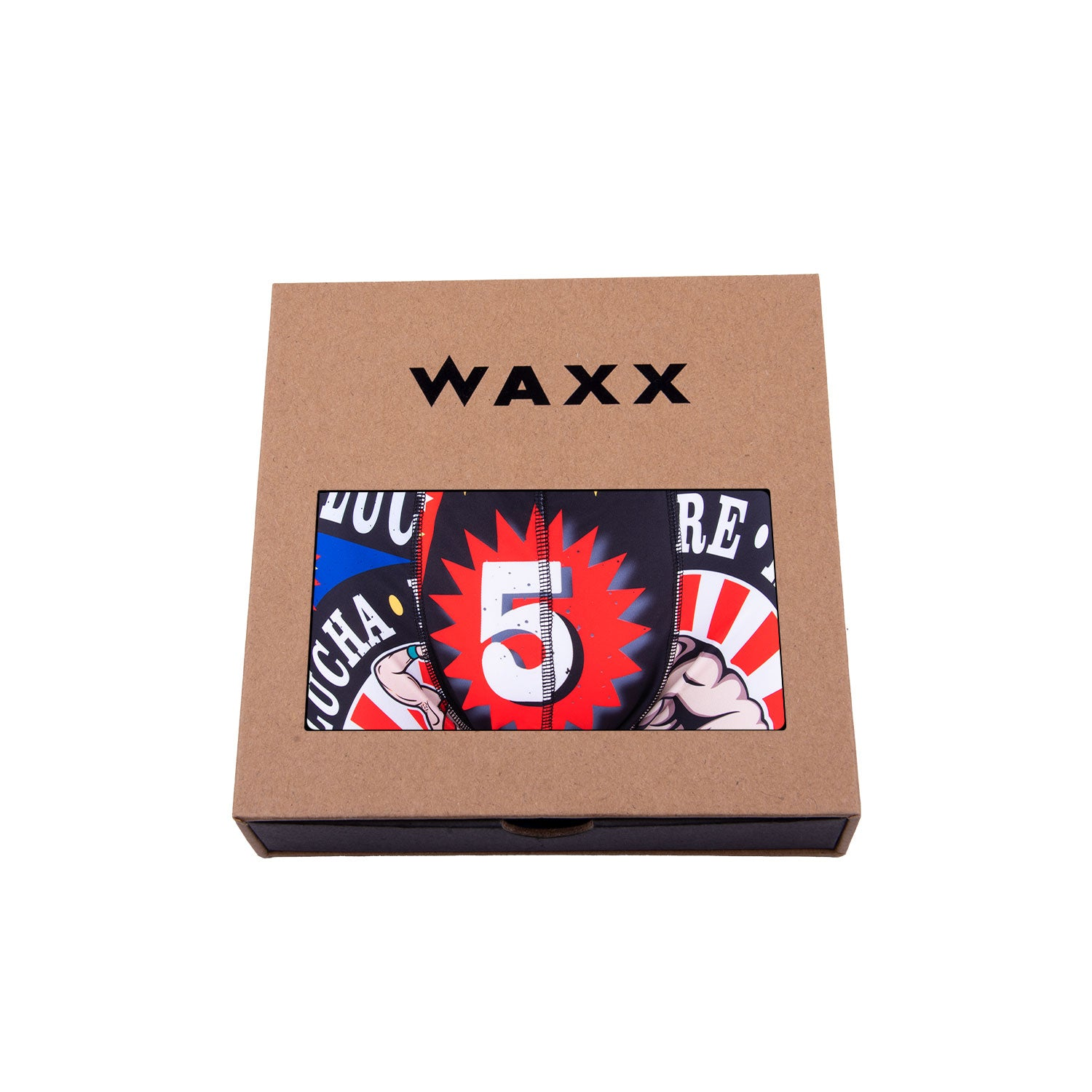 Waxx Men's Trunk Boxer Short Lucha Libre