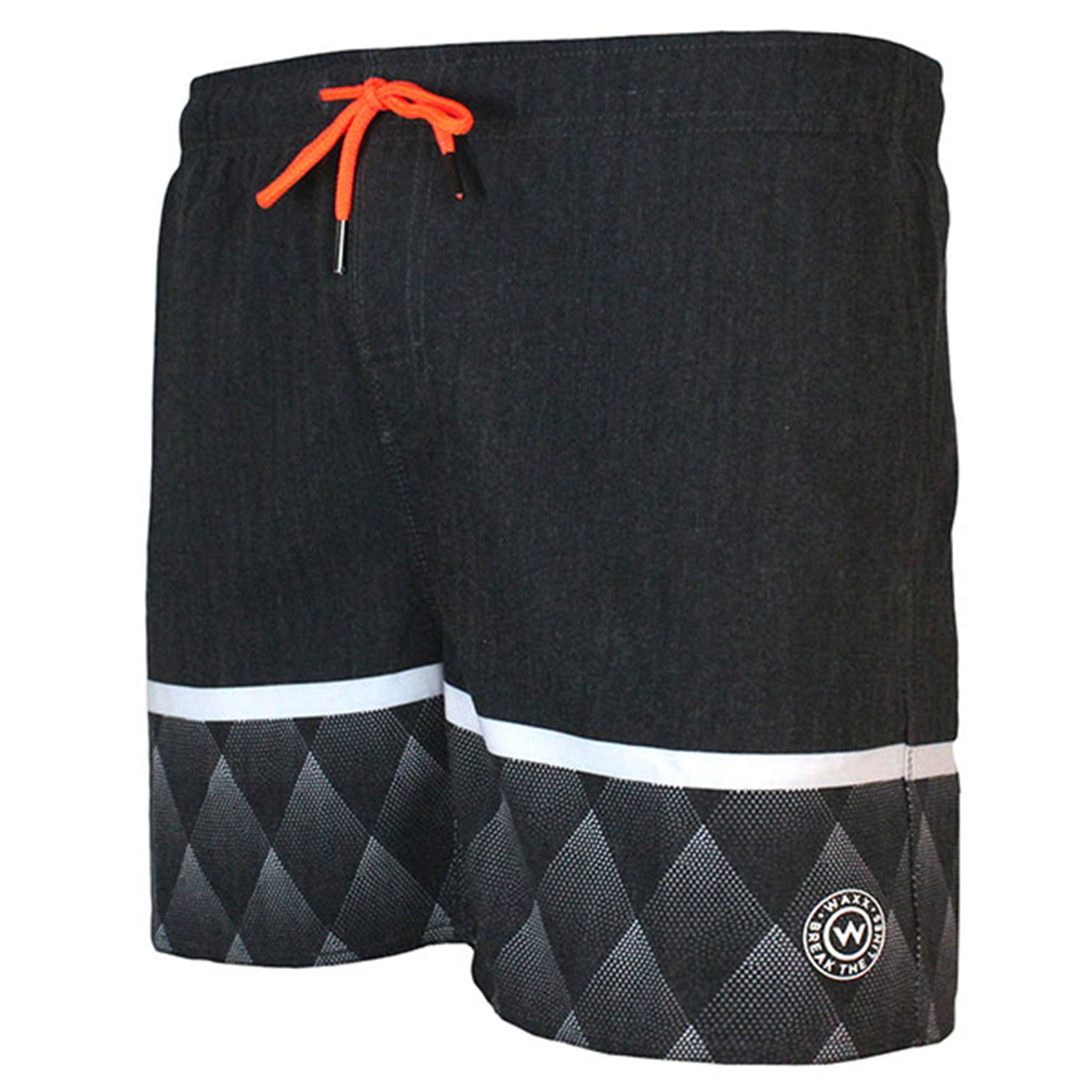 WAXX Swell Black Night Men's Beach Short