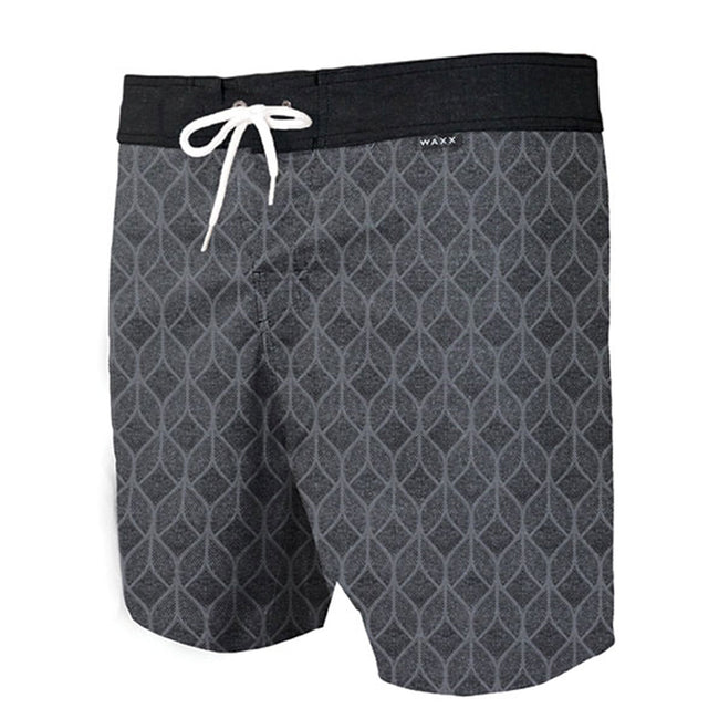 Waxx Heaven Black Men's Beach Short