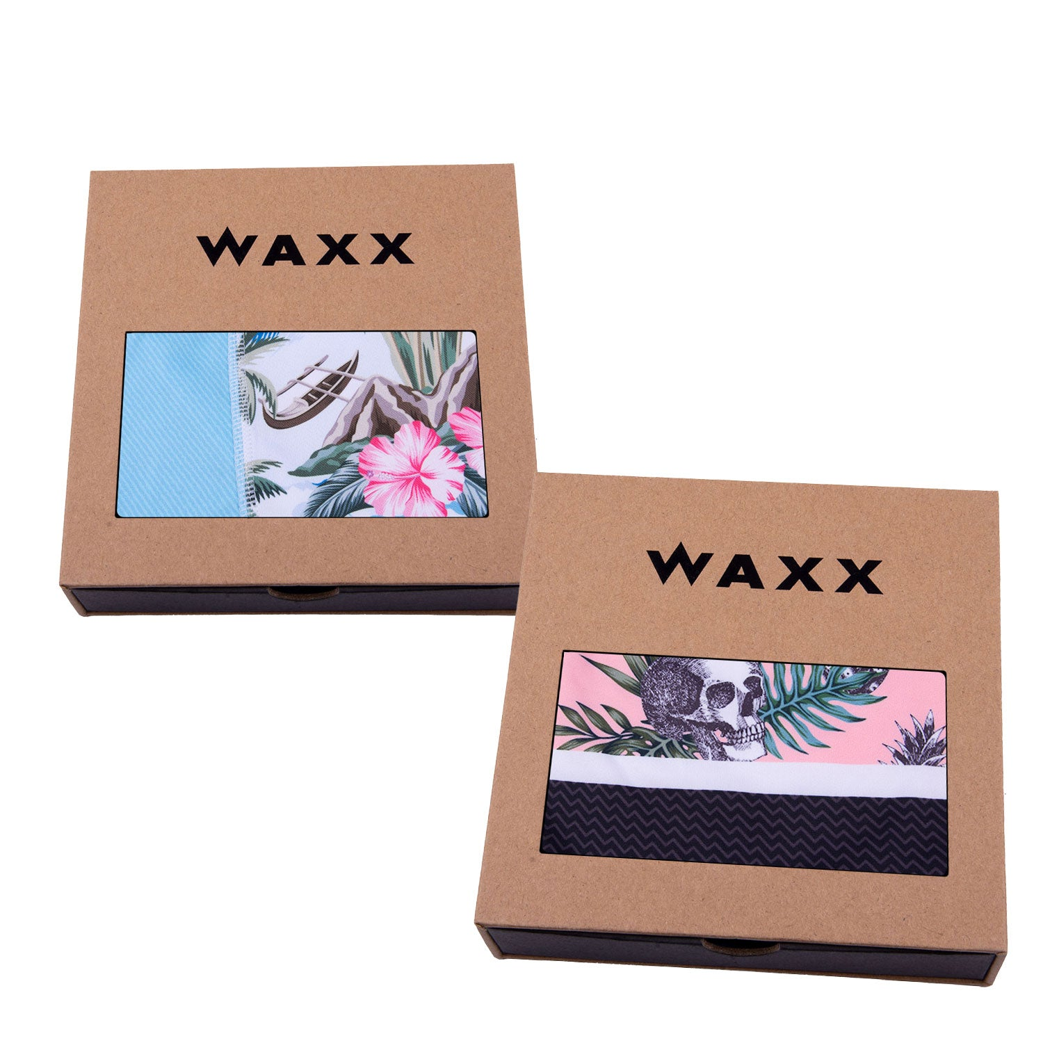 Waxx Men's Trunk Boxer Short Bundle 'Hawaiian Shirts'