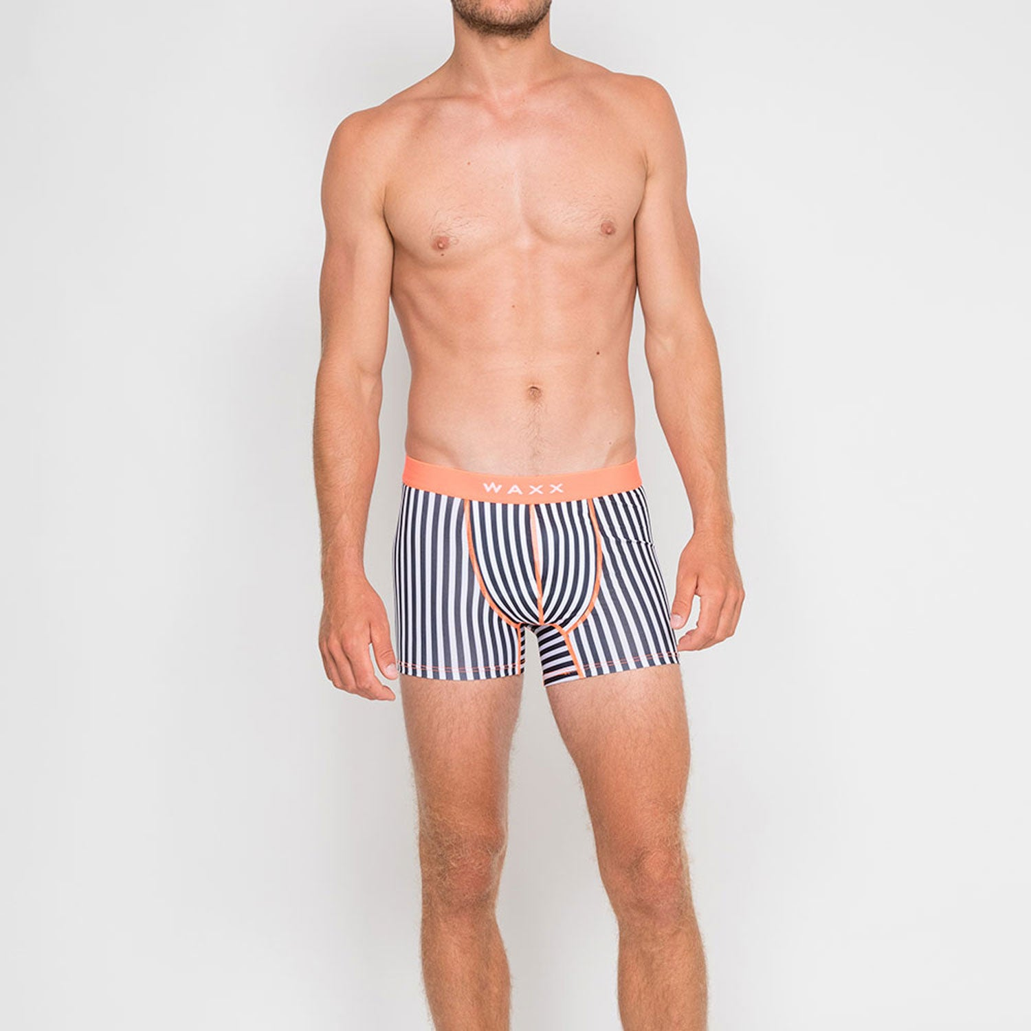 Waxx Men's Trunk Boxer Short Lines