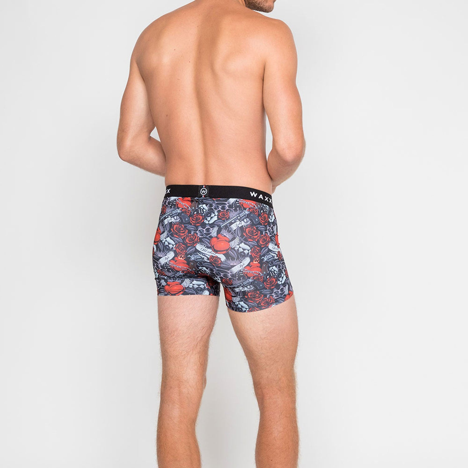Waxx Men's Trunk Boxer Short Old School