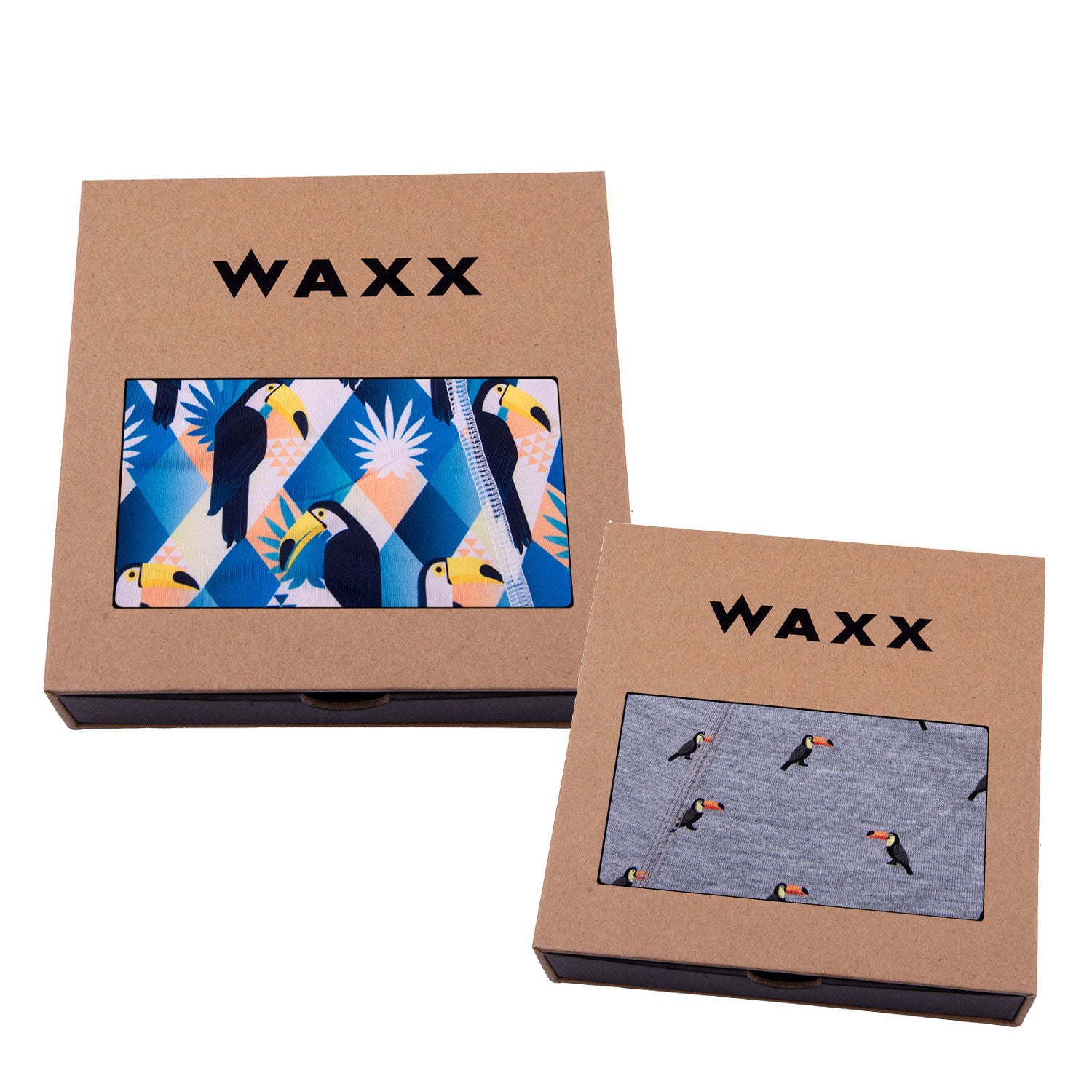 Waxx Women's Boy Short Bundle 'Ramphastidae'