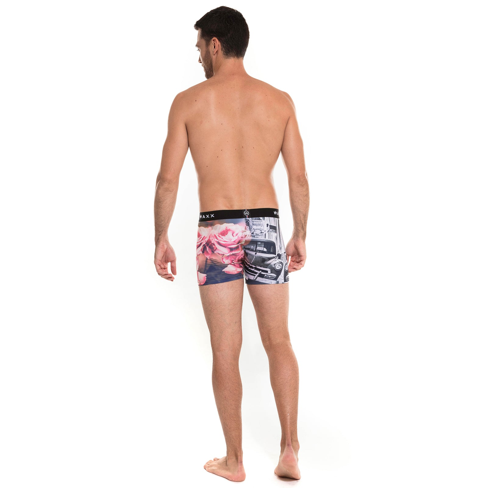 Waxx Men's Trunk Boxer Short Rosa