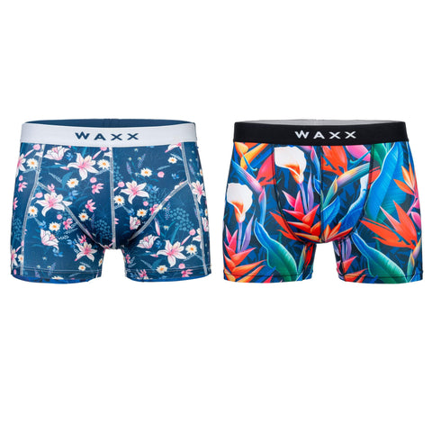 Waxx Women's Boy Short Bundle 'Botanic'