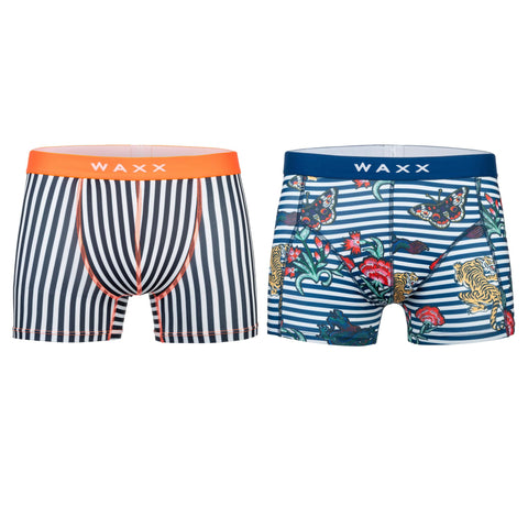 Waxx Men's Trunk Boxer Bundle 'Perennials'