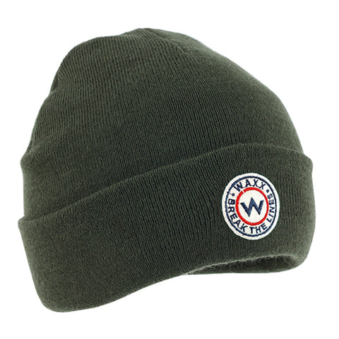 Waxx Slouchy Beanie London Misty Black
