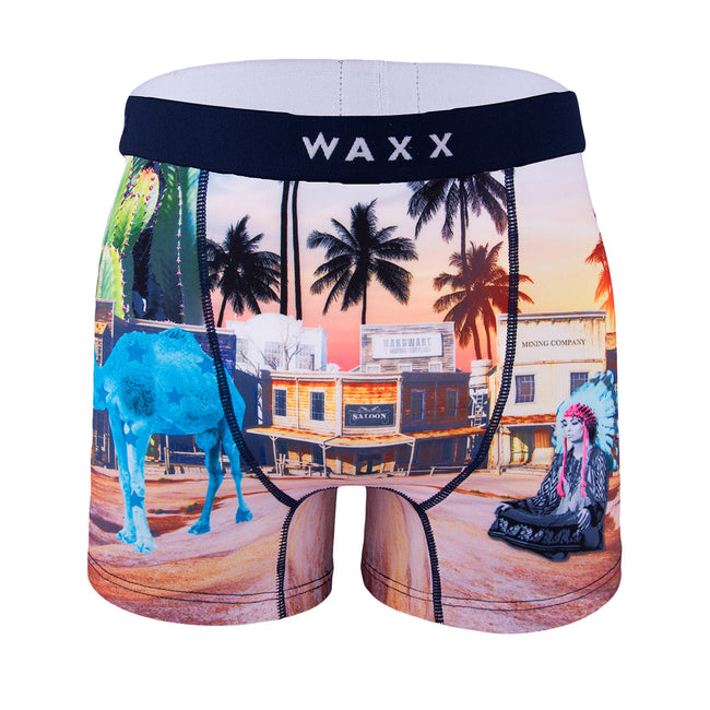 Waxx Men's Trunk Boxer Short Camel