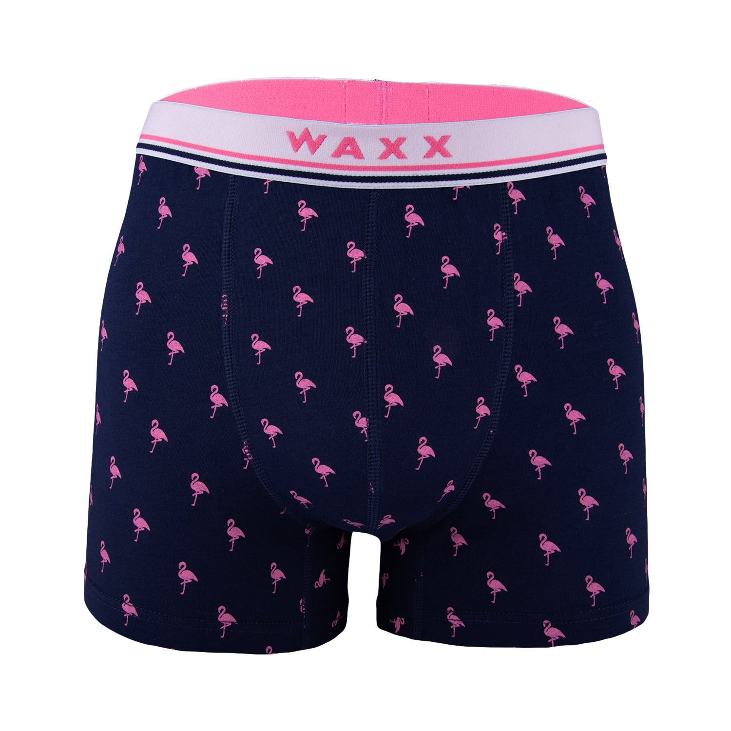 Waxx Men's Trunk Boxer Short Flamingo