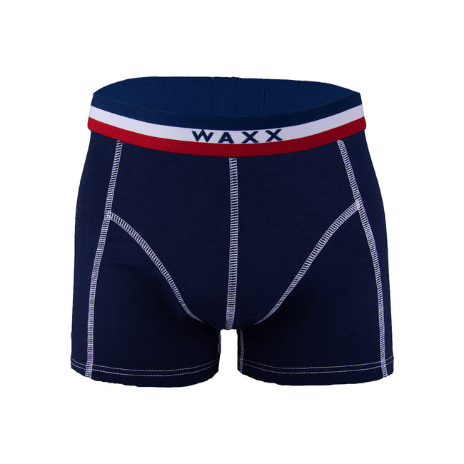 Waxx Men's Trunk Boxer Short Frenchy Marine