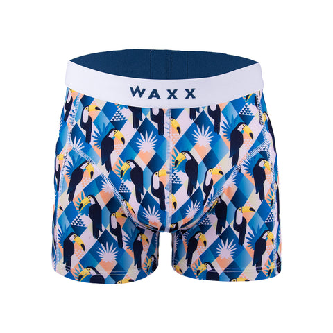 Waxx Men's Trunk Boxer Short Snowfiction