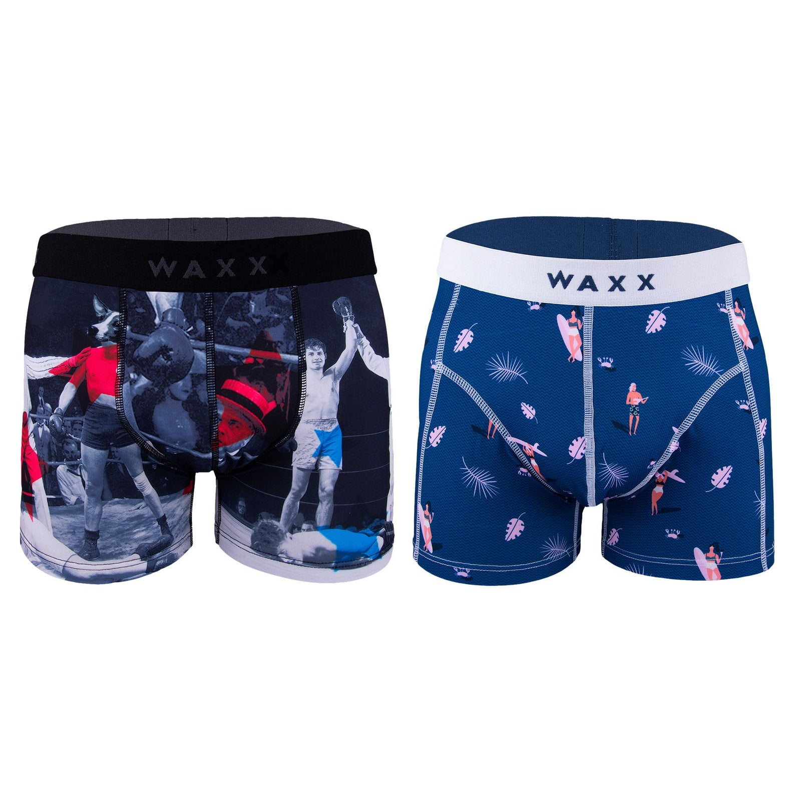 Let's Get Physical - Waxx Men's Trunk Boxer Short