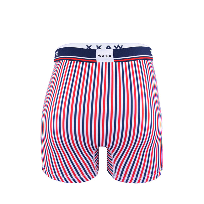 Waxx Men's Trunk Boxer Short Multi Stripes