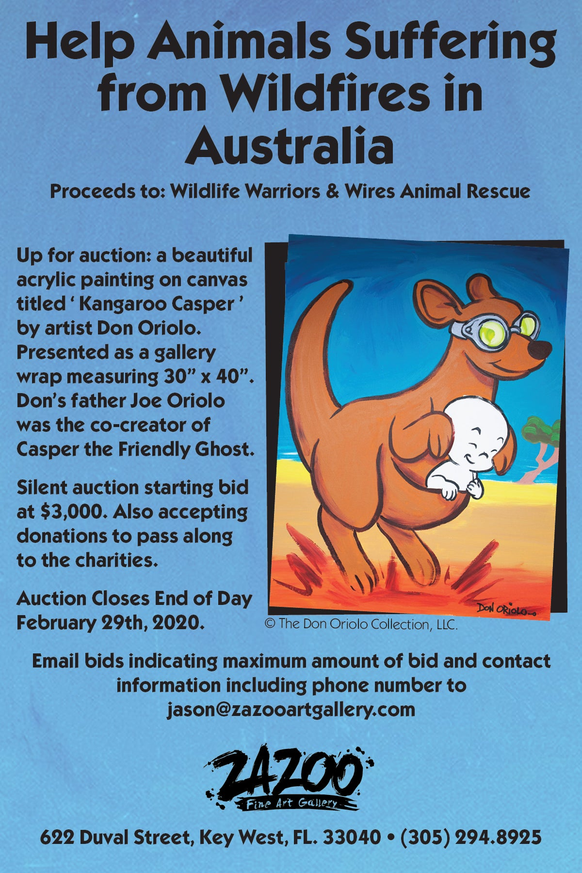 Help Animals Suffering from Wildfires in Australia