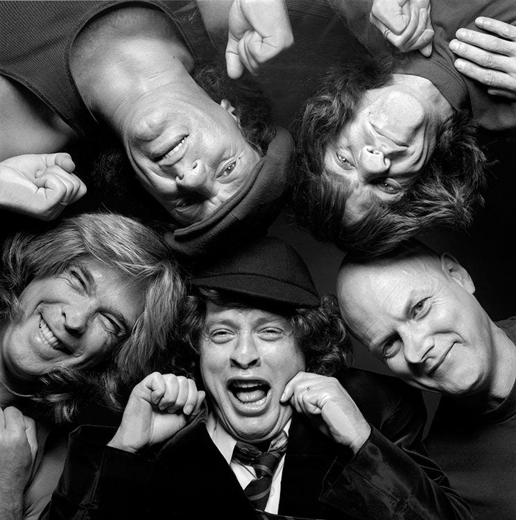 ACDC - HAND-SIGNED BY THE LATE TERRY O'NEILL