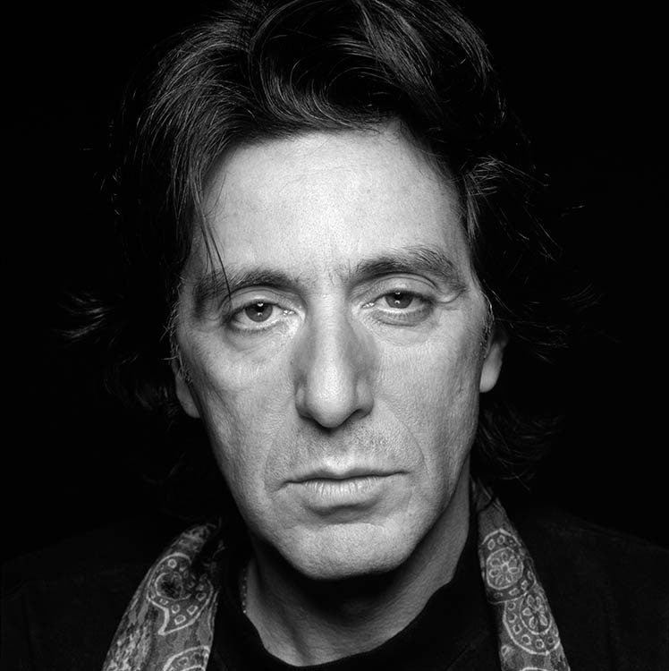 AL PACINO - HAND-SIGNED BY THE LATE TERRY O'NEILL