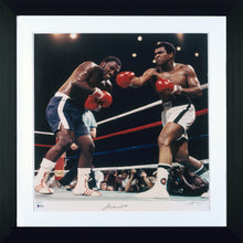 ALI - FRAZIER III - HAND SIGNED NEIL LIEFER AND MUHAMMAD ALI