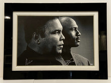 MUHAMMAD ALI AND MICHAEL JORDAN SIGNED PHOTOGRAPH