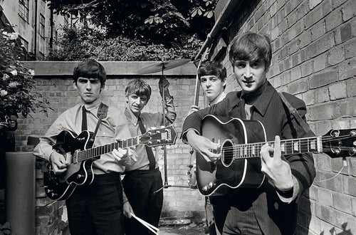 BACKYARD BEATLES - HAND-SIGNED BY THE LATE TERRY O'NEILL
