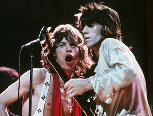MICK JAGGER AND KEITH RICHARDS - NYC