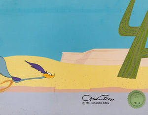 ROAD RUNNER - ORIGINAL PRODUCTION CEL