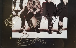 HOW TO DISMANTLE AN ATOMIC BOMB - ALBUM COVER SIGNED BY U2
