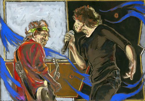 CONNECTION - MICK JAGGER AND KEITH RICHARDS