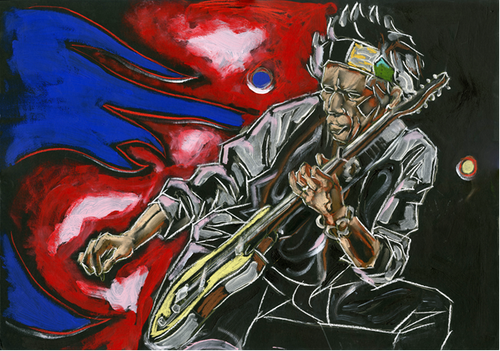 CROUCH - KEITH RICHARDS