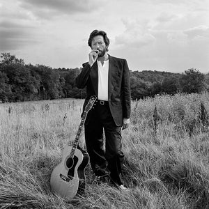 ERIC CLAPTON SURREY - HAND-SIGNED BY TERRY O'NEILL