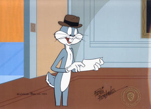 BUGS BUNNY WITH LETTER - ORIGINAL PRODUCTION CEL