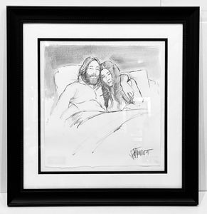 JOHN LENNON AND YOKO ONO - BED IN