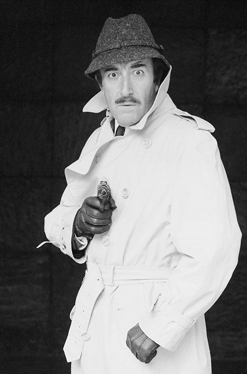 PETER SELLERS - INSPECTOR CLOUSEAU - HAND-SIGNED BY TERRY O'NEILL