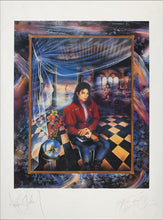 THE BOOK - MIXED MEDIA ARTGRAPH HAND-SIGNED BY MICHAEL JACKSON