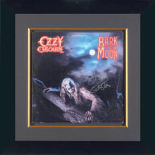 BARK AT THE MOON - OZZY OSBOURNE HAND SIGNED ALBUM COVER
