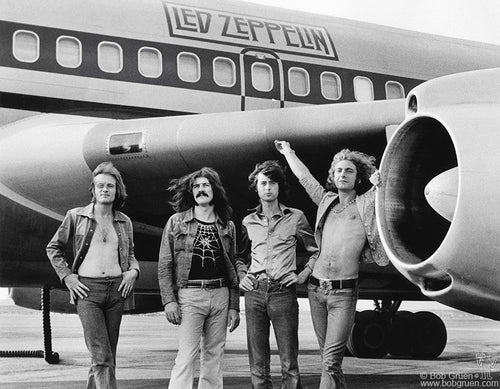 LED ZEPPELIN AIRPLANE IN NEW YORK - LARGE