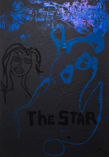 THE STAR (IN BLACK) - ORIGINAL