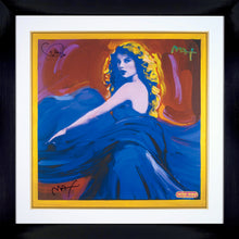 TAYLOR SWIFT POSTER - HAND SIGNED BY TAYLOR SWIFT AND ARTIST PETER MAX