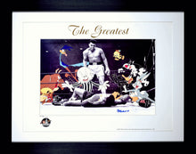 THE GREATEST - HAND-SIGNED BY MUHAMMAD ALI