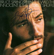 THE WILD, THE INNOCENT AND THE E STREET SHUFFLE - HAND-SIGNED BY BRUCE SPRINGSTEEN - ALBUM AND VINYL SETUP