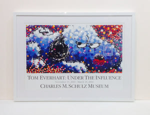 TOM EVERHART: UNDER THE INFLUENCE EXHIBIT - CHARLES M. SCHULZ MUSEUM POSTER