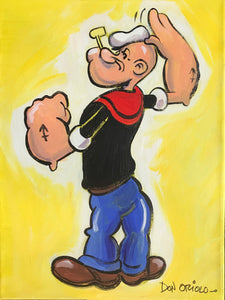 WHERE'S MY SPINACH? - POPEYE