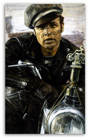 MARLON BRANDO (REBEL) THE WILD ONE