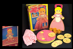 PLAY 'N CARRY DOLL and TEA SET