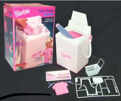 BARBIE SPIN PRETTY WASHER (Mattel)