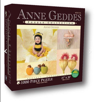 **ANNE GEDDES PUZZLES (Manufactured)