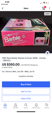 Barbie Spin Pretty Really Works Washer