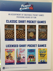 **SHIRT POCKET GAMES® and PUZZLES BRAND - TCG