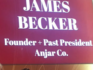 JAMES R. BECKER, Founder of Anjar, 2018 TOY FAIR HALL OF FAME INDUCTEE & 2011 TAGIE Award Winner