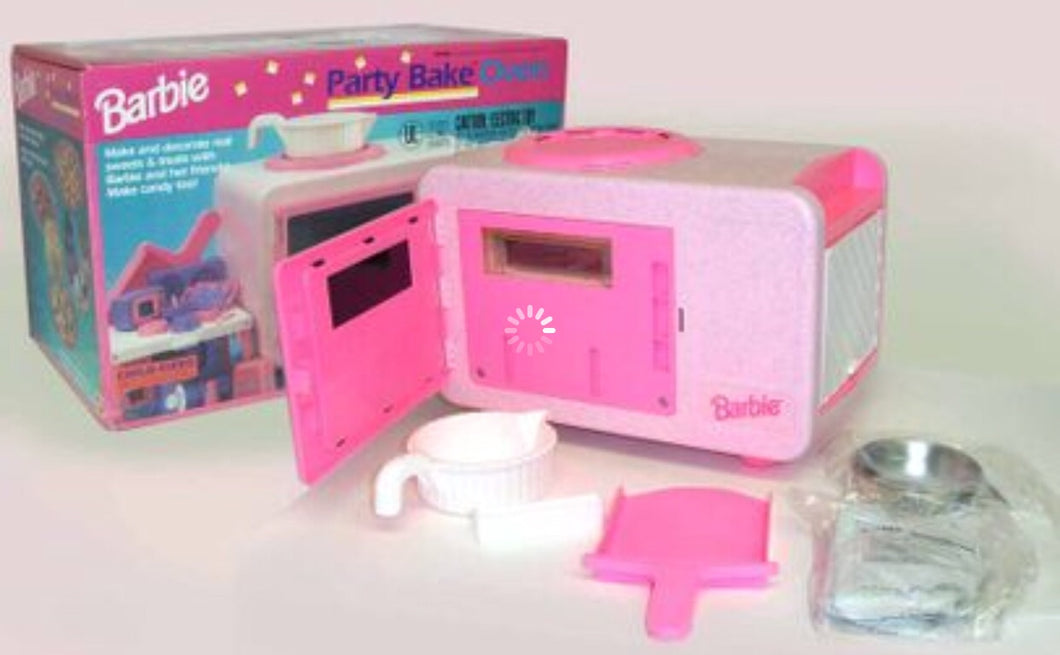 BARBIE PARTY BAKE OVEN (Mattel)