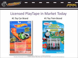 *PLAYTAPE - Marketed & Patented